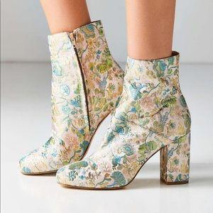Danielle jacquard ankle bootie